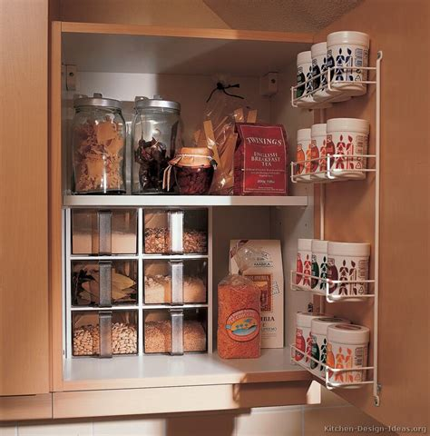 kitchen spice storage ideas european kitchen cabinets pictures and design ideas
