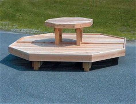 garden centre display benches item 2tseta 8 two tier octagonal set includes 2 b8ec