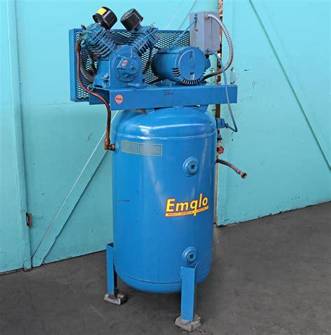 emglo  jenny  hp  gallon vertical air compressor
