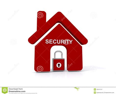 home security icon stock photo image 43215757