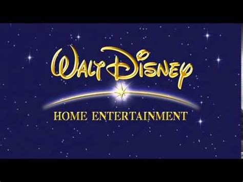 quot walt disney home entertainment quot logo 2004