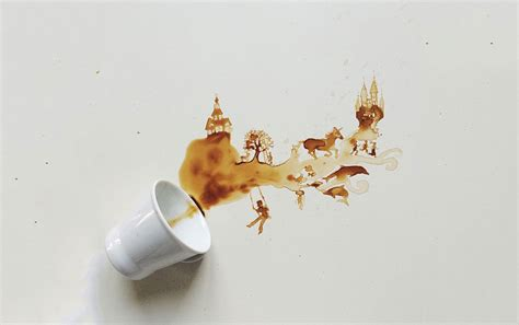 Spilled Coffee On by Spilled Coffee Will Grab You By The Horns