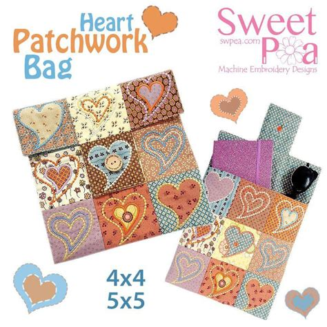 Patchwork Bag Designs - machine embroidery designs quilts and quilting ith