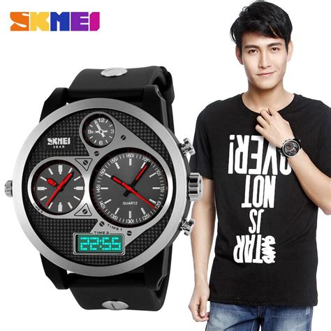Promo Skmei Casio Sport Led Water Resistant 50m Ad1117 skmei casio sport led water resistant 50m ad1033 black black jakartanotebook