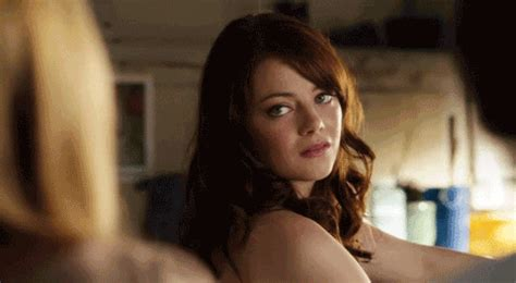 emma stone gif on tumblr sarcastic emma stone gif find share on giphy