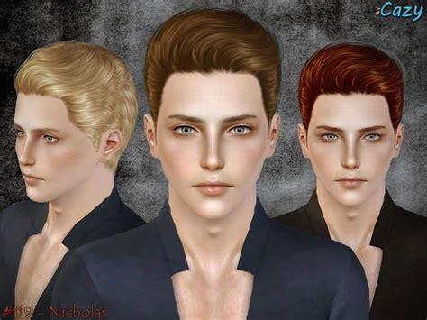 men hair sims 2 7 best sims 3 cc male hair images on pinterest sims 3