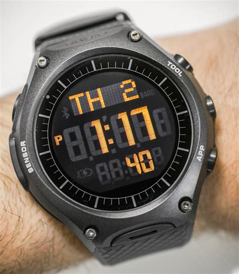 Casio Smartwatch Android casio wsd f10 android wear smartwatch review most