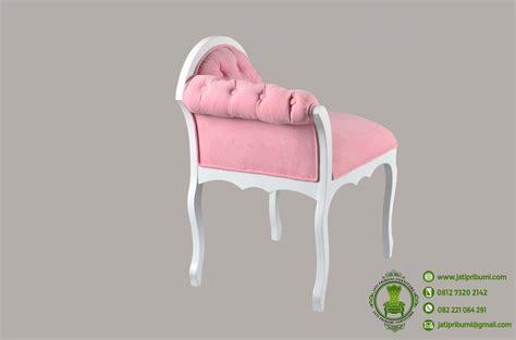 Kursi Keramas Putih Jok Warna Pink kursi sofa cantik minimalis pink terbaru jati pribumi