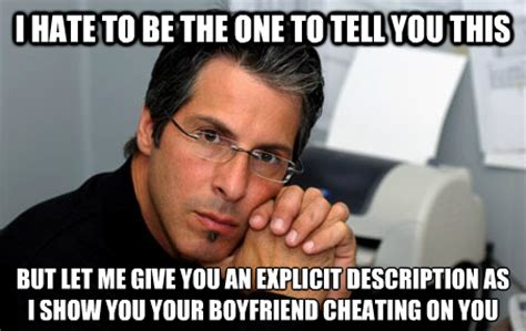 Cheating Men Meme - 4 senses to trust when you think your man is cheating