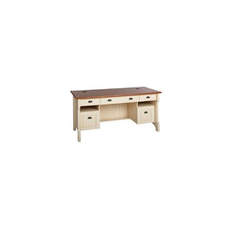christopher lowell shore home executive desk 30 1 2 h x 65