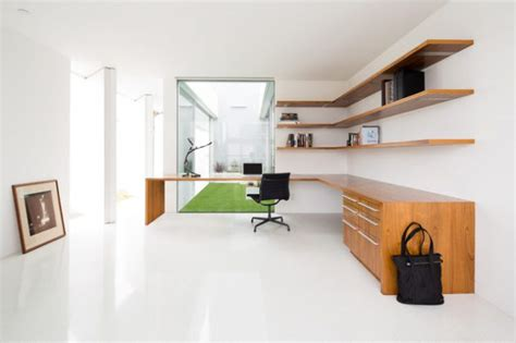how to create a minimalist home office frances hunt 18 minimalist home office designs that abound with