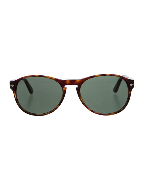 Keyhole Sunglasses by Persol Tortoiseshell Keyhole Sunglasses Accessories
