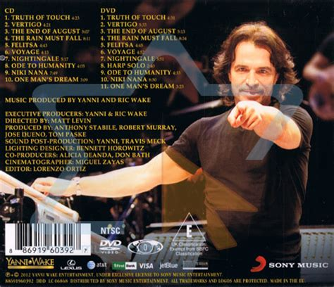 Cd Yanni Live At El Morro live at el morro by yanni