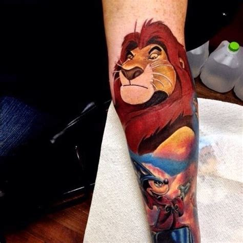 lion king tattoos amp hakuna matata tattoo amp simba and nala