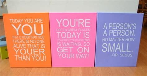 Design Your Dream Home Free Software dr seuss quotes on canvas one artsy mama