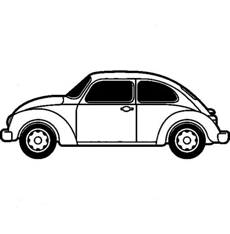 printable coloring pages vw bug free volkswagen beetle coloring pages