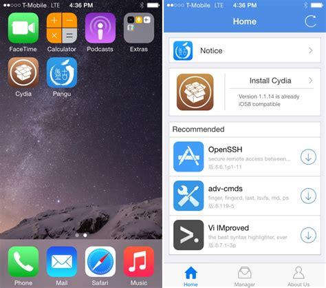 iphone cydia download free apps how to jailbreak ios 8 and install cydia the easy way