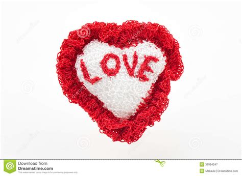 Handcrafted Hearts - handmade royalty free stock photography image