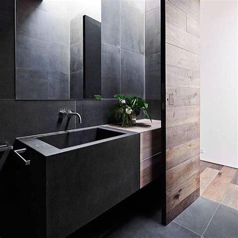 32 dark moody bathroom designs that impress digsdigs