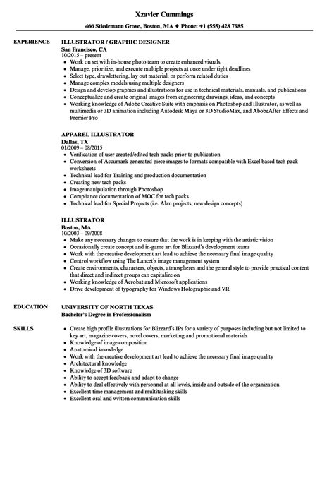 Illustrator Resume by Illustrator Resume Sles Velvet