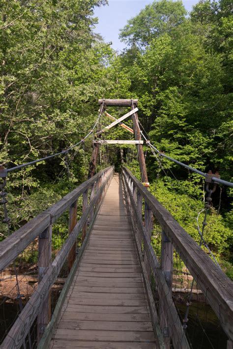swinging bridge in blue ridge ga swinging bridge in georgia