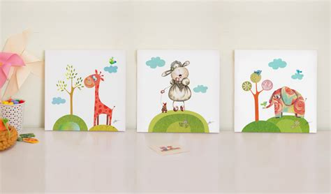 painting for nursery nursery print set baby room prints nursery canvas