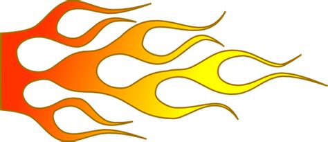 racing flame clip art at clker com vector clip art