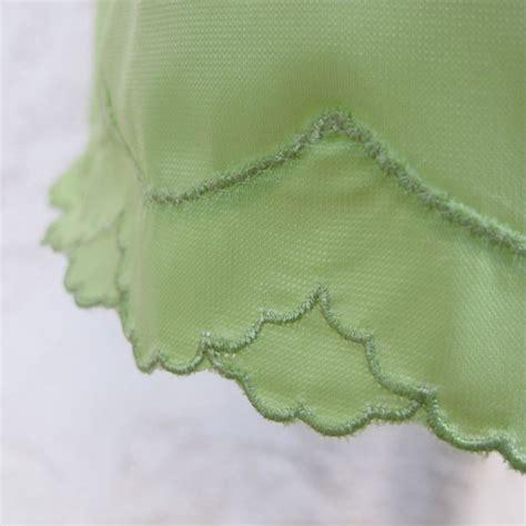 key lime green key lime green pencil skirt half slip by van raalte size