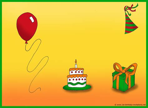 How To Create Birthday Card With Photo How To Create Birthday Invitations And Cards 1st