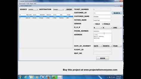 swing projects in java airline reservation system project in java with mysql