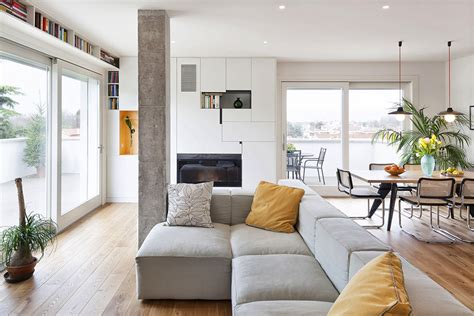 Small Living Room Decorating Ideas modern and inspiring interior displaying concrete pillars