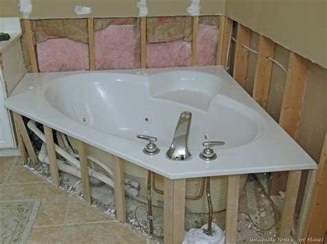 removing bathtub updating tub surround uniquely yours or mine