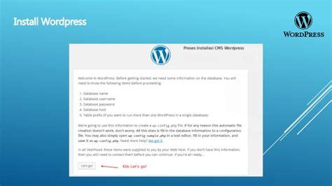 cara membuat virus membahayakan am shared cara membuat website menggunakan cms wordpress xampp