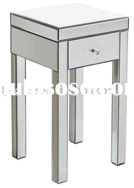 Mirroed Nightstand Mirror Nightstand Table