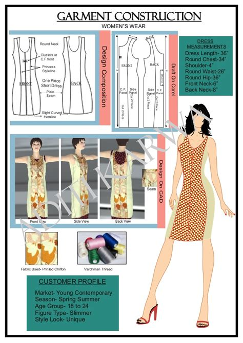 patternmaking for fashion design slideshare garment construction