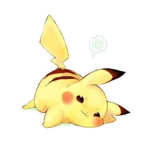 imagenes kawaiis de picachu pikachu kawaii dibujos para dibujar colorear imprimir