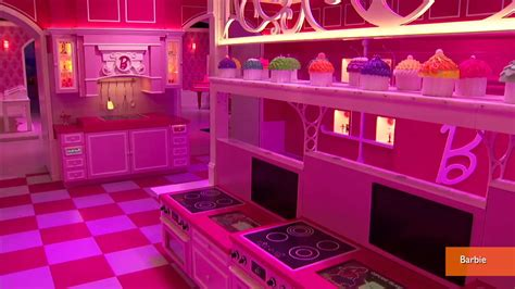 life size barbie doll house barbie s life size dream house opens to public youtube