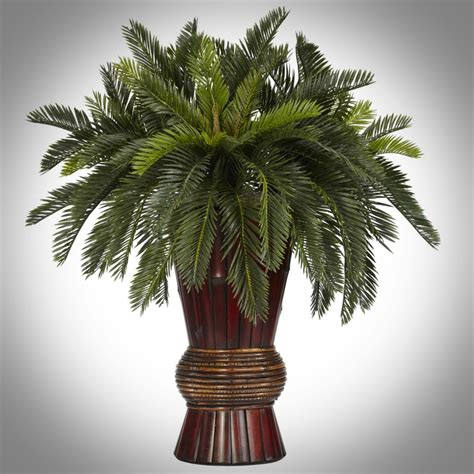 how to decorate a palm tree decorating with artificial palm trees
