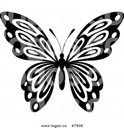 butterfly pattern black and white clipart free black butterfly clipart 41