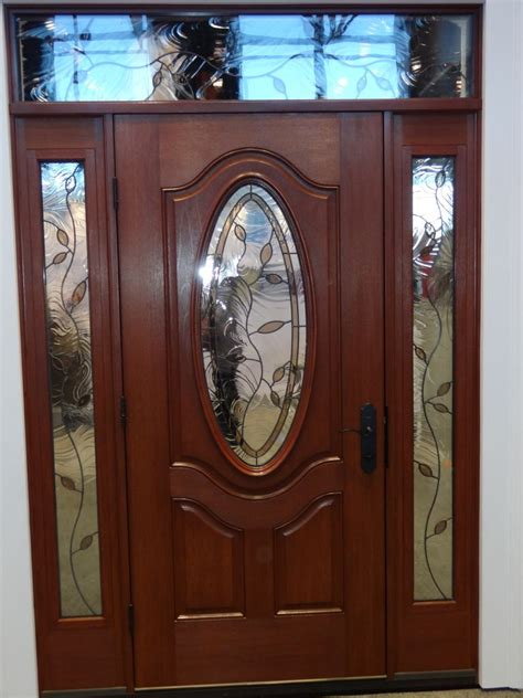 Decorative Glass Front Doors Doors Innovate Building Solutions Bathroom Kitchen Basement Remodeling Design Ideas