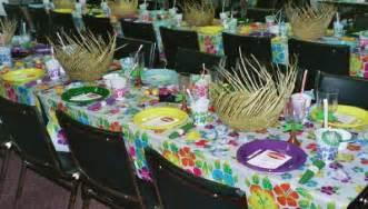 Hawaiian Table Decorations Ideas by Hawaiian Decorations Ideas Decorating Ideas