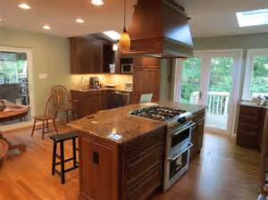 Kitchen concept and kitchen kitchens island with stove stove tops