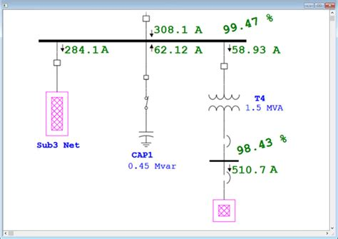intelligent one line diagram electrical single line