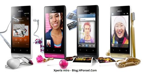 Hp Sony Xperia Yang 1 Juta sony xperia miro hp android layar 3 5 inch harga dibawah 2