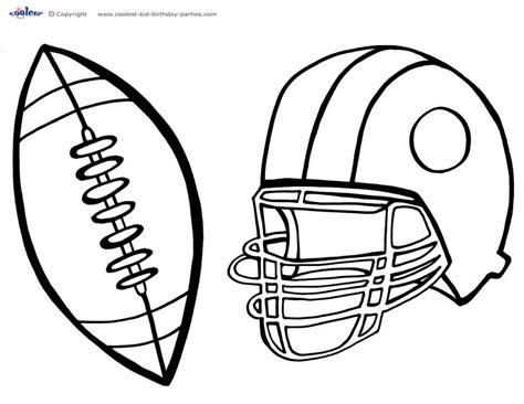 printable football coloring pages fablesfromthefriends com