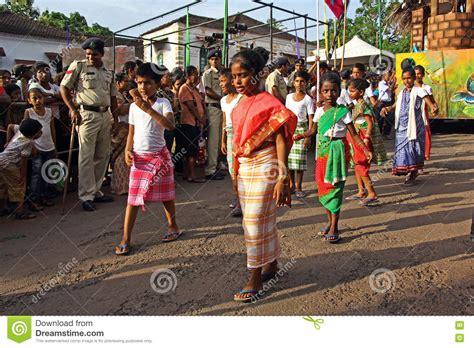 festival in india 2016 bonderam 2016 festival in goa india 1 editorial stock