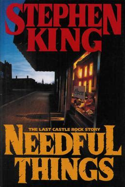 stephen king needful things awake dreaming