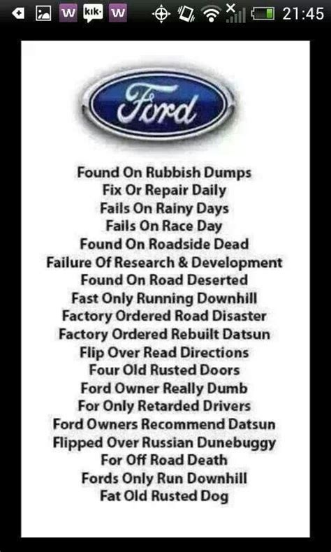 1000 images about ford jokes on chevy trucks