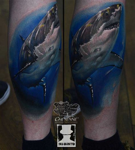 great tattoo design the gallery for gt great white shark designs
