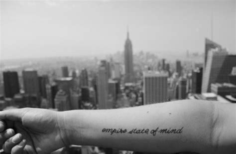 tattoo nyc empire state tattoos the blonde salad